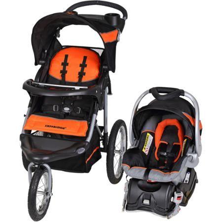 Baby Trend Expedition Jogger Travel System Millennium Orange