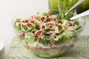 Salade de poulet « BLT »