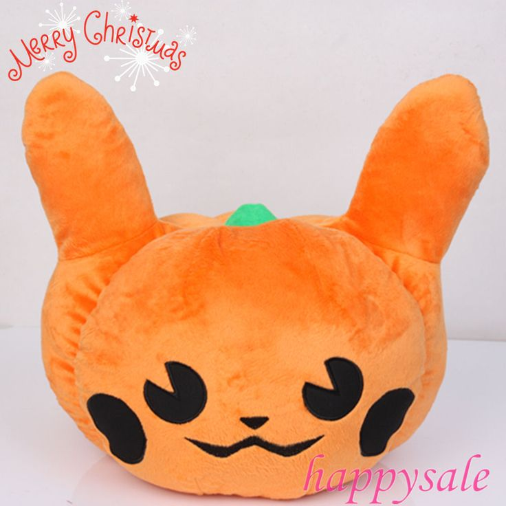 Pokemon Pumpkin Pikachu Soft Pillow Cushion Christmas Special Edition Halloween