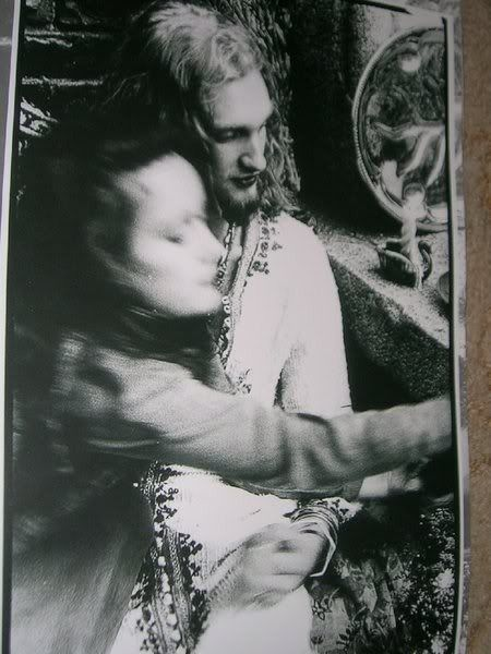 Demri Parrott and Layne Staley.                                                                                                                                                                                 More