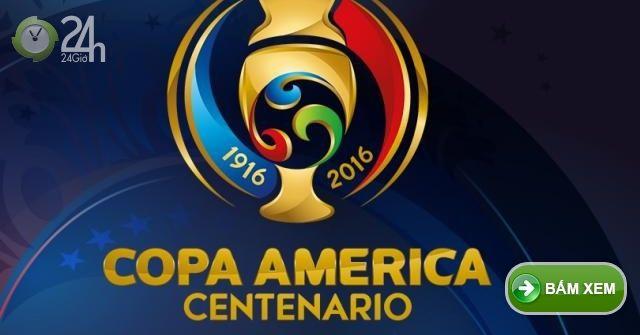Lich thi dau Copa America 2016