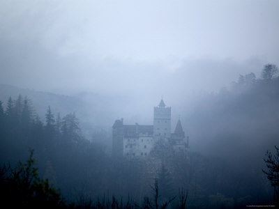 Foggy Bran Castle: Transylvania really looks like you imagined it.