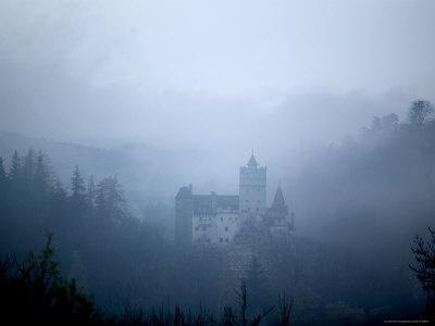 Foggy Bran Castle: Transylvania really looks like you imagined it.