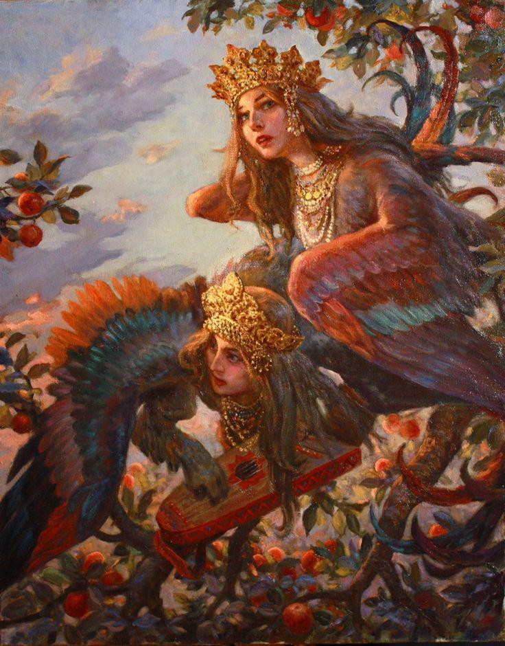 Сад Ирий - художник Андрей Шишкин