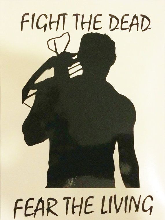The Walking Dead Inspired Daryl Dixon Vinyl Decal by Imaginerdy, $7.00…