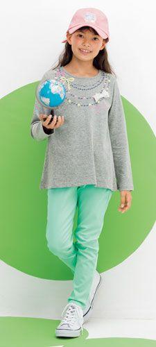 【ニッセン】子供服(女の子・男の子)のコーディネート:かわいいおしゃれキッズ服 通販