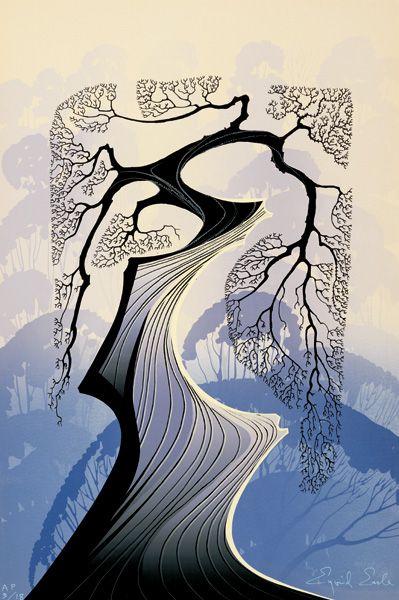 Carmel Cypress - Eyvind Earle