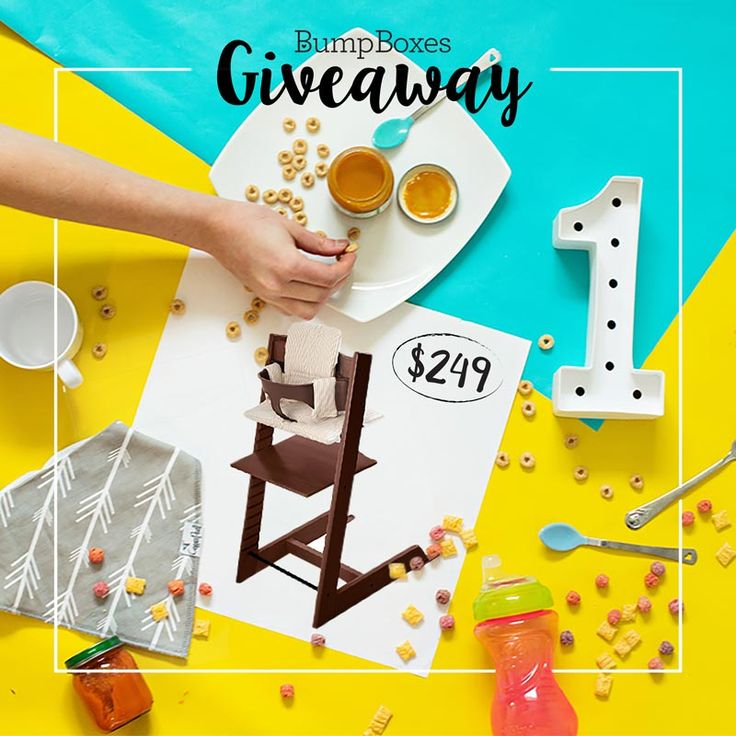 You Could Win A Stokke High Chair!
