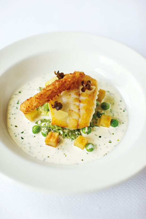 Turbot with Tartare Sauce 'Nathan Outlaw's Way': http://www.foodlovermagazine.com/recipes/turbot-with-tartare-sauce-nathan-outlaws-way/3396