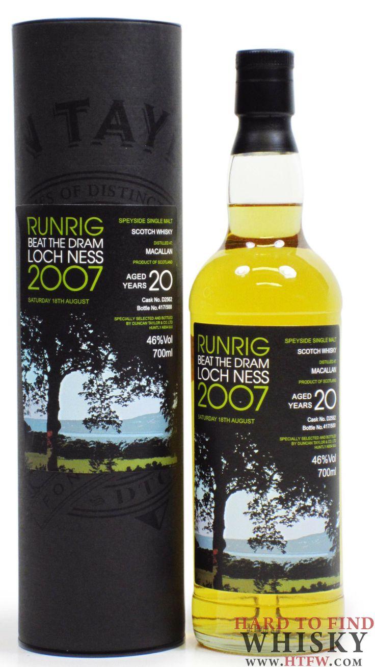 Macallan - Runrig Beat The Dram Loch Ness 2007 - 1987 20 year old