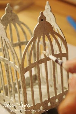 The Dining Room Drawers: Tim Holtz Birdcage Tealight Candle Holder