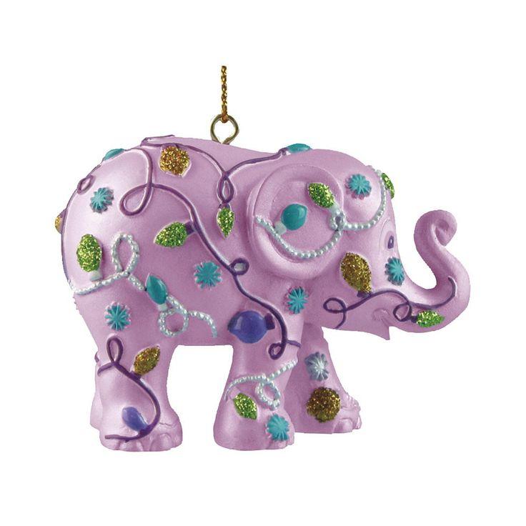 Christmas elephant for hanging, Sparkling Lights
