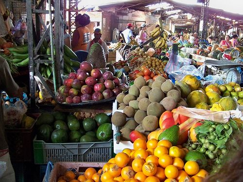El mercado de Cali, Colombia
