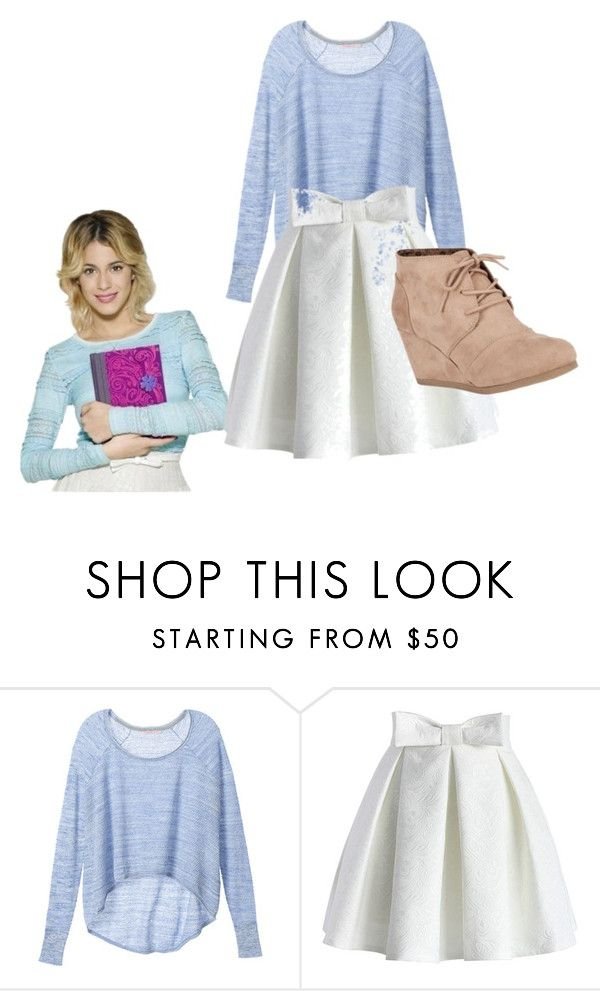 """violetta look"" by lillyloveslol ❤ liked on Polyvore featuring Victoria's Secret, Chicwish and City Classified"