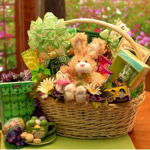 103 best easter gifts and spring gift ideas images on pinterest deluxe easter festival gift basket negle Image collections