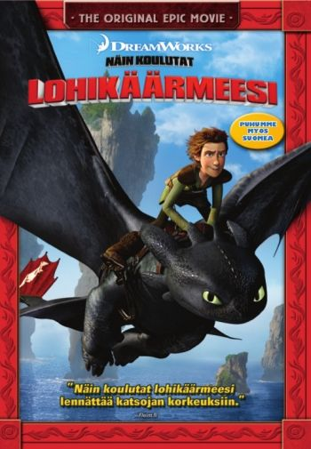Näin koulutat lohikäärmeesi DVD 5,95€
