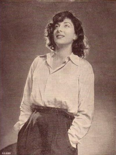 Nargis in the 1950s.