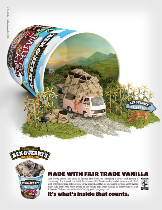 339. Ad of the Week: Ben & Jerry's. - Graphicology Blog - Graphicology