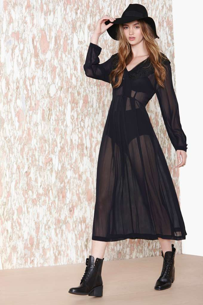 Sheer Luck Dress