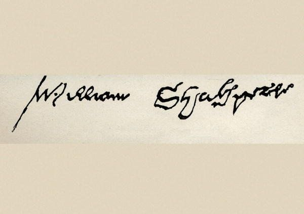 RAREST SIGNATURE: With only 6 of them in existence William Shakespeare's signature is one of the rarest of all and is valued somewhere around $3 million dollars.