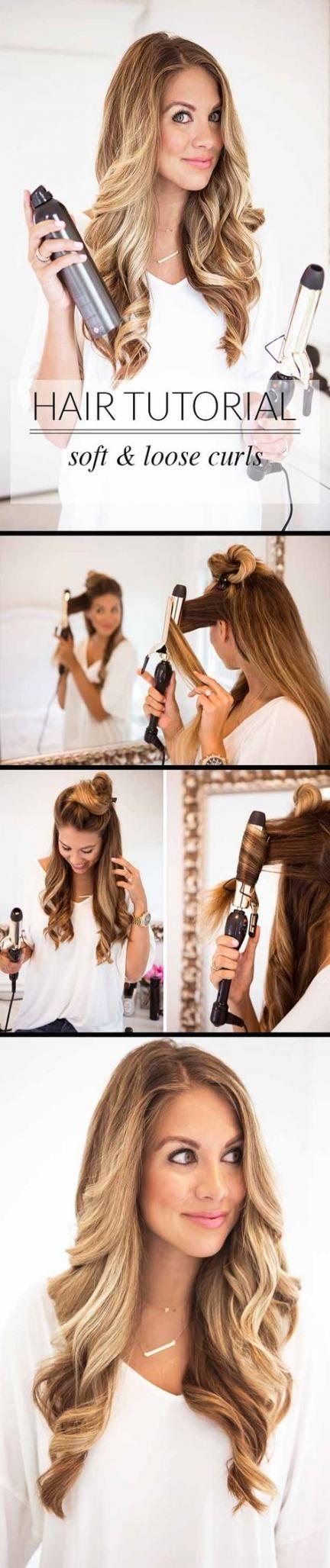 Best hair tutorial with bangs half up ideas