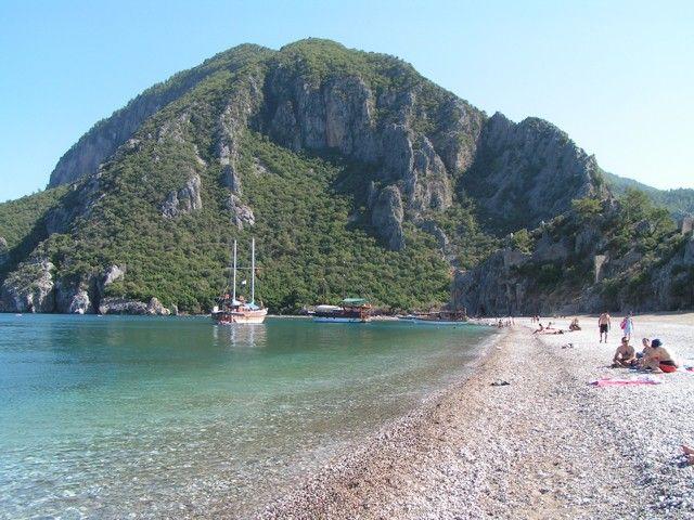 Cirali Beach Cabins, Lycian Way, Turkey, April 2012