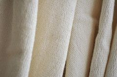 Organic Cotton French Terry - Natural Color   Organic Cotton Plus $9.08 per yard over 10+