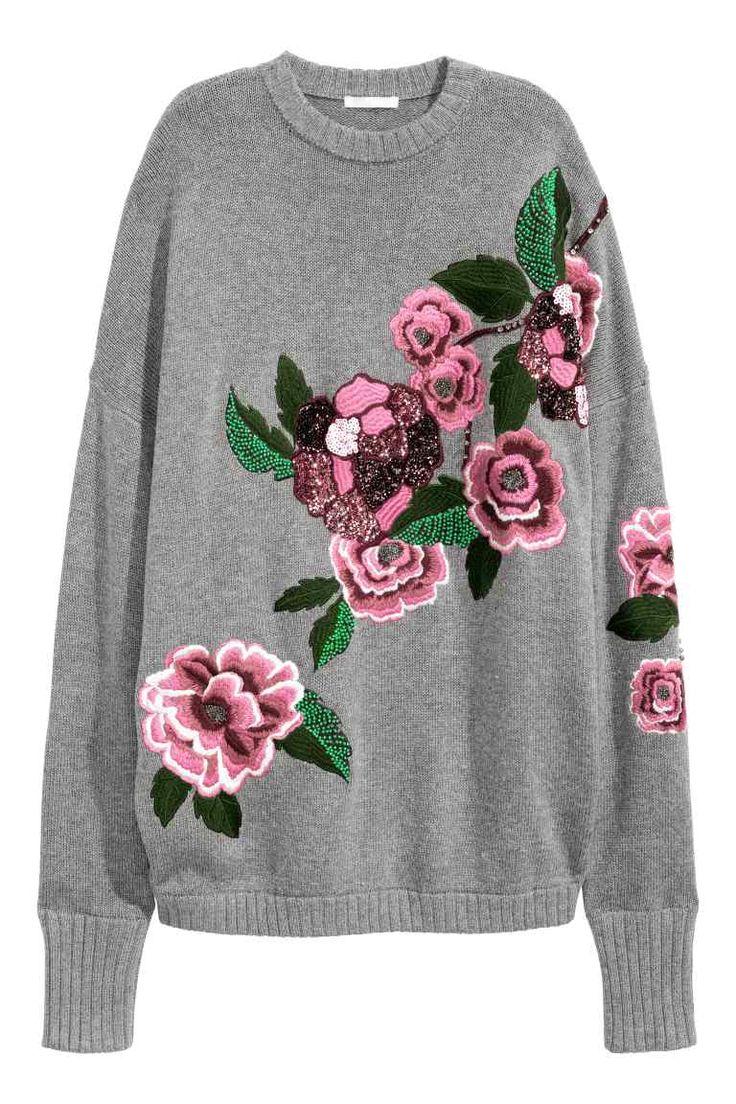 Jersey con bordado | H&M