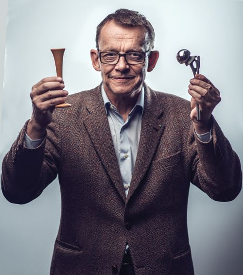 BTS: Shooting a Portrait of Hans Rosling for a Student Magazine Cover