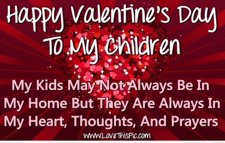 Happy Valentine's Day To My Children