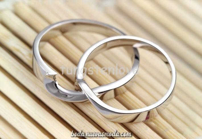 Asombroso Alianzas De Doble Entrelazado Wedding Jewelry Silver Bracelet Jewelry