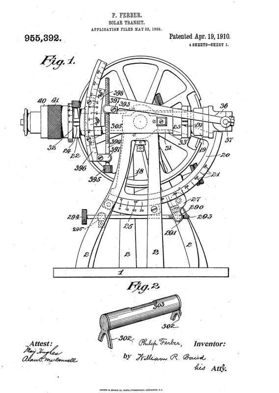 diagram of solar transit theodolite  this is a full body diagram of the model of theodolite
