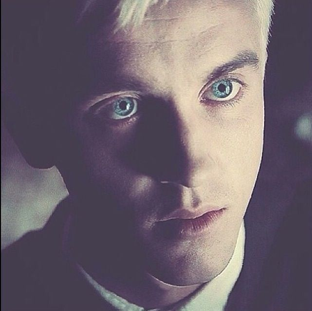 Draco Malfoy; This picture just captures me, so hypnotic...