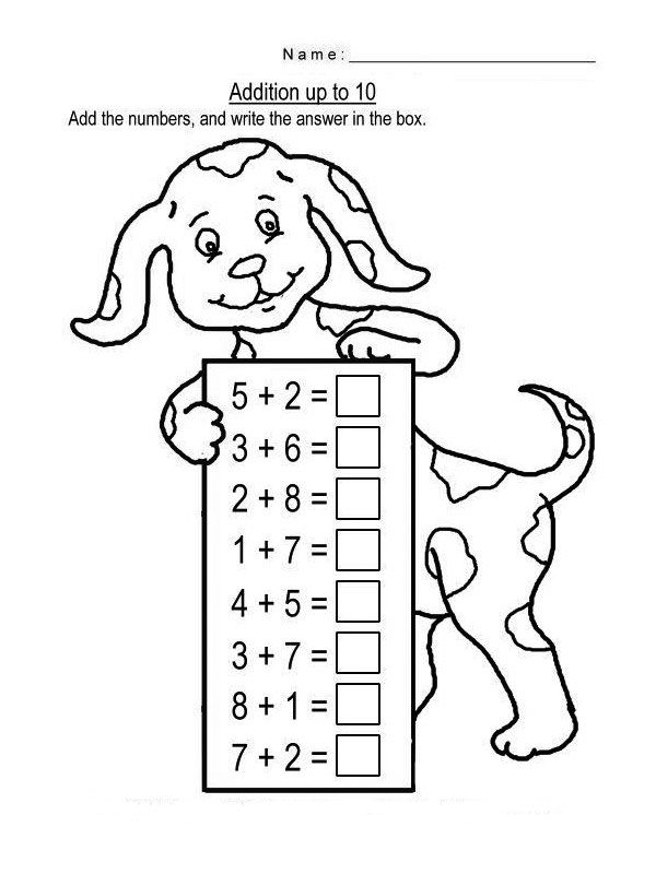 Free Printable Addition Math Worksheets For Kids Kids Math Worksheets Kindergarten Math Worksheets Math Worksheets