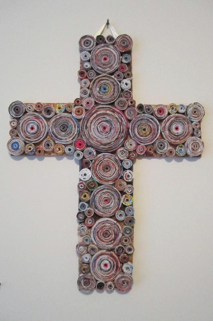 Rolled Magazine Cross