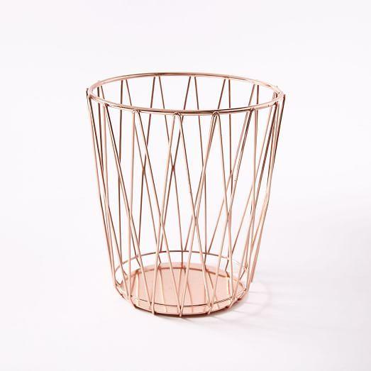 Copper Wire Utensil Holder