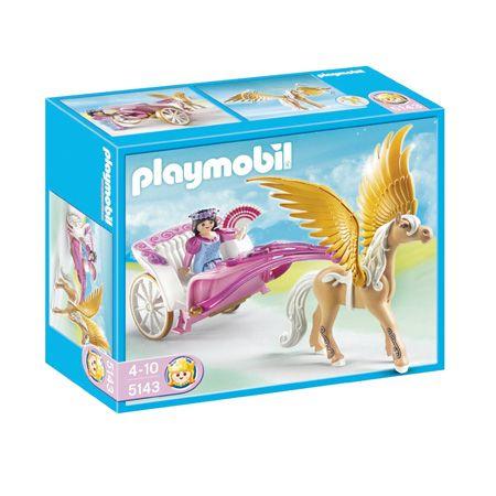 Playmobil Magic Castle - Princess with Pegasus Carriage by Playmobil - $18.95