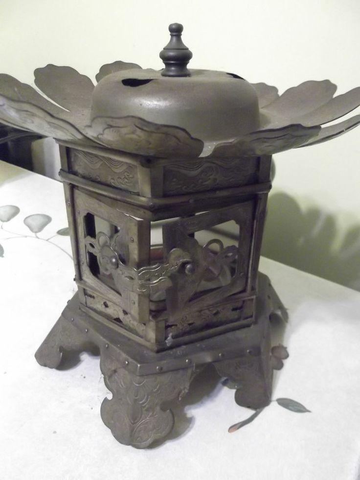 Japanese temple candlesticks