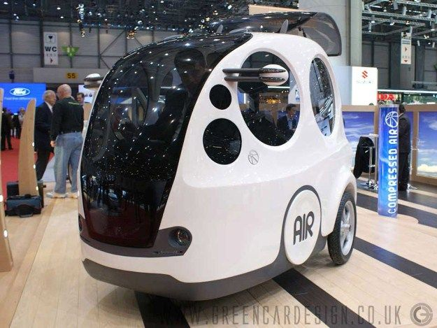 AIRPOD - A CAR WITH A REVOLUTIONARY PNEUMATIC ENGINE ~ All-in-One