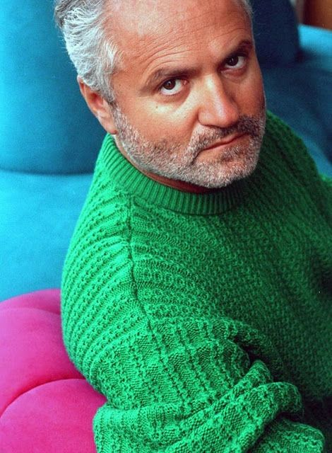 Gianni Versace  ( December 2, 1946 – July 15, 1997) Fashion Designer
