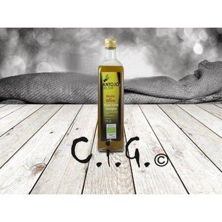 #Aceite de #oliva Virgen Extra #Ecológico 750 ml  #Aceites #Alimentación #Delicatessen #Gastronomía #Gourmet #Oil