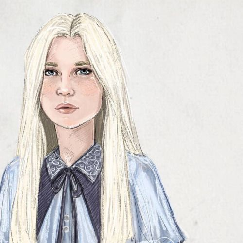 Fleur Delacour by jenna paddey art on tumblr