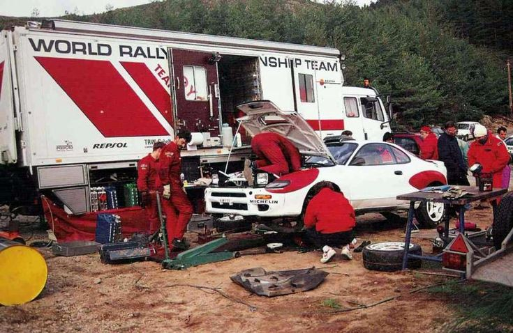 Toyota Rally Team 1983