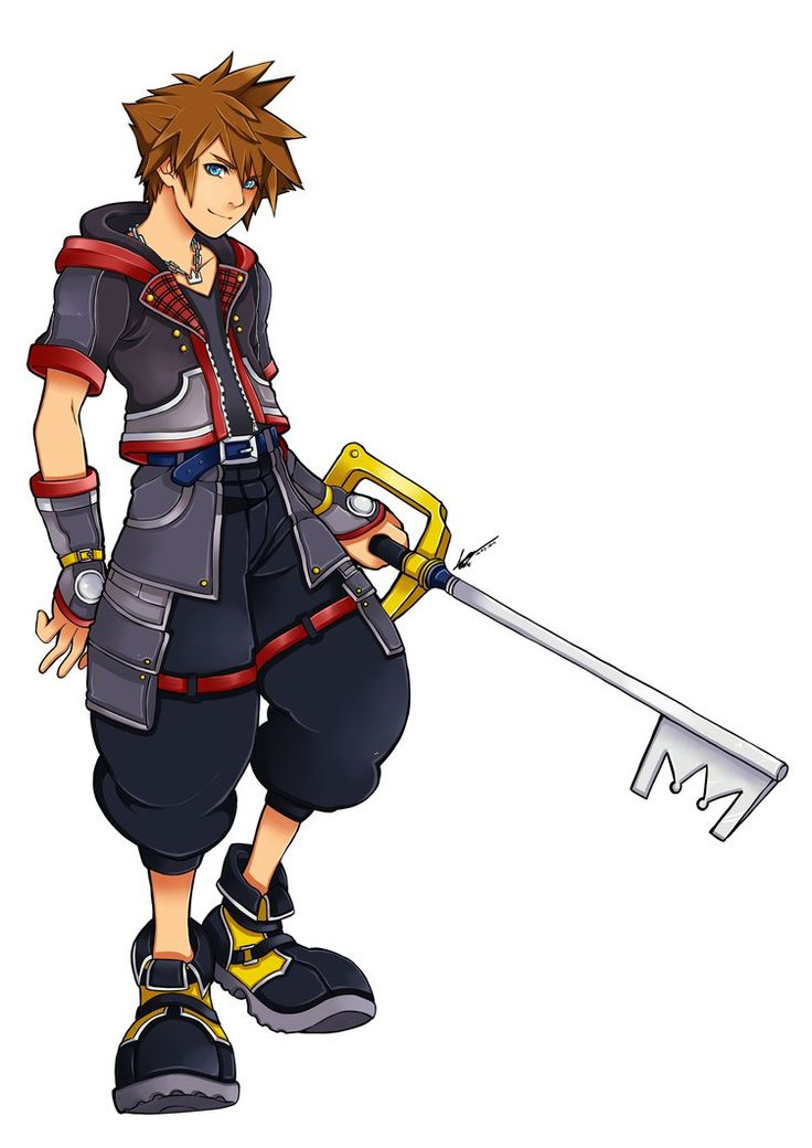 Sora Kingdom hearts 3 design by kimbolie12 on DeviantArt
