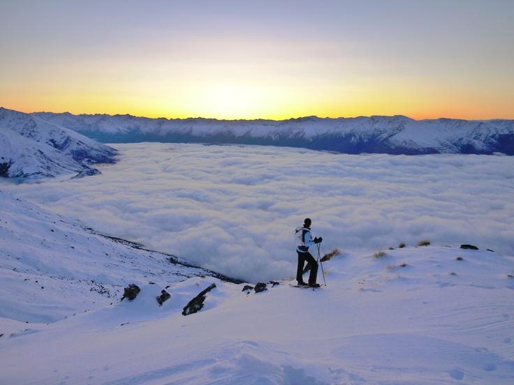 Athleta film shoot 2011 Snowfarm, Wanaka, New Zealand Photo Guy Cotter