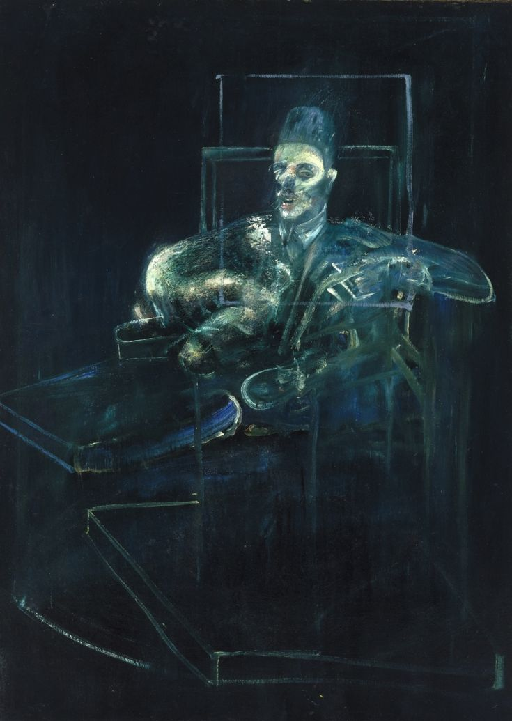 Francis Bacon Pope 1955-1956 Oil on canvas 195.9 x 140 cm Gift of Olga H. Knoepke