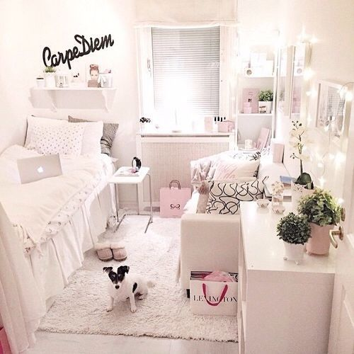 so cute!! love the carpe diem in the back (: new room