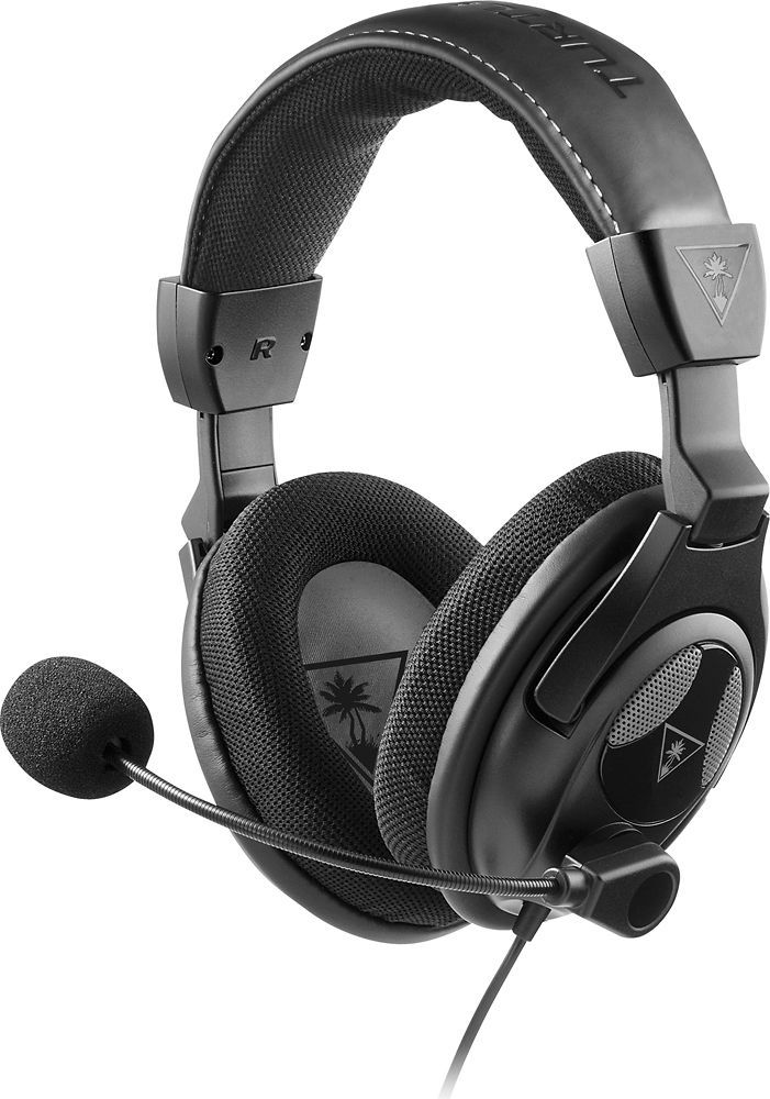 Turtle Beach - Ear Force PX24 Over-the-Ear Gaming Headset for PS4, Xbox One and PC - Black