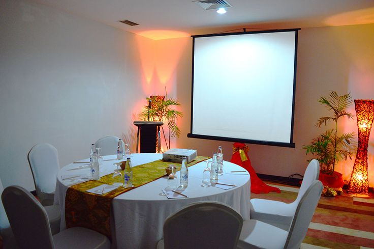 Jembrana Room is located at the 6th floor, featuring 25 m2 of space can be catering up to 25 people altogether. The meeting room can be used for purpose of board meeting style and fits for small business meeting and corporate presentation. Fully air conditioned, completed with amenities and facilities for meeting purpose.