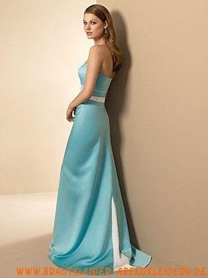 Satin Preiswertes stilvolles Abendkleid
